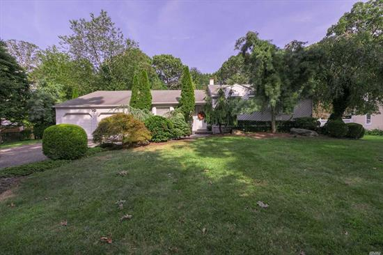 This Expanded 5 BR Ranch(2900 Sq Feet) features an Updated Eik, Large Great Room W/Gas FP, FDR, Separate Guest Wing W/BR, Full Bath & Wetbar, Spacious Master BR Suite W/WIC & Bath, Main Flr Laundry, HW Floors( Under Carpets), Full Finished Basement W/Seperate Office & Ose, Vinyl Siding, Anderson Windows, Gas Heat, CAC & IGS-set on 1/2 Acre of Gorgeous Flat Park Like Property W/Heated IG Pool! *Taxes are being Grieved*