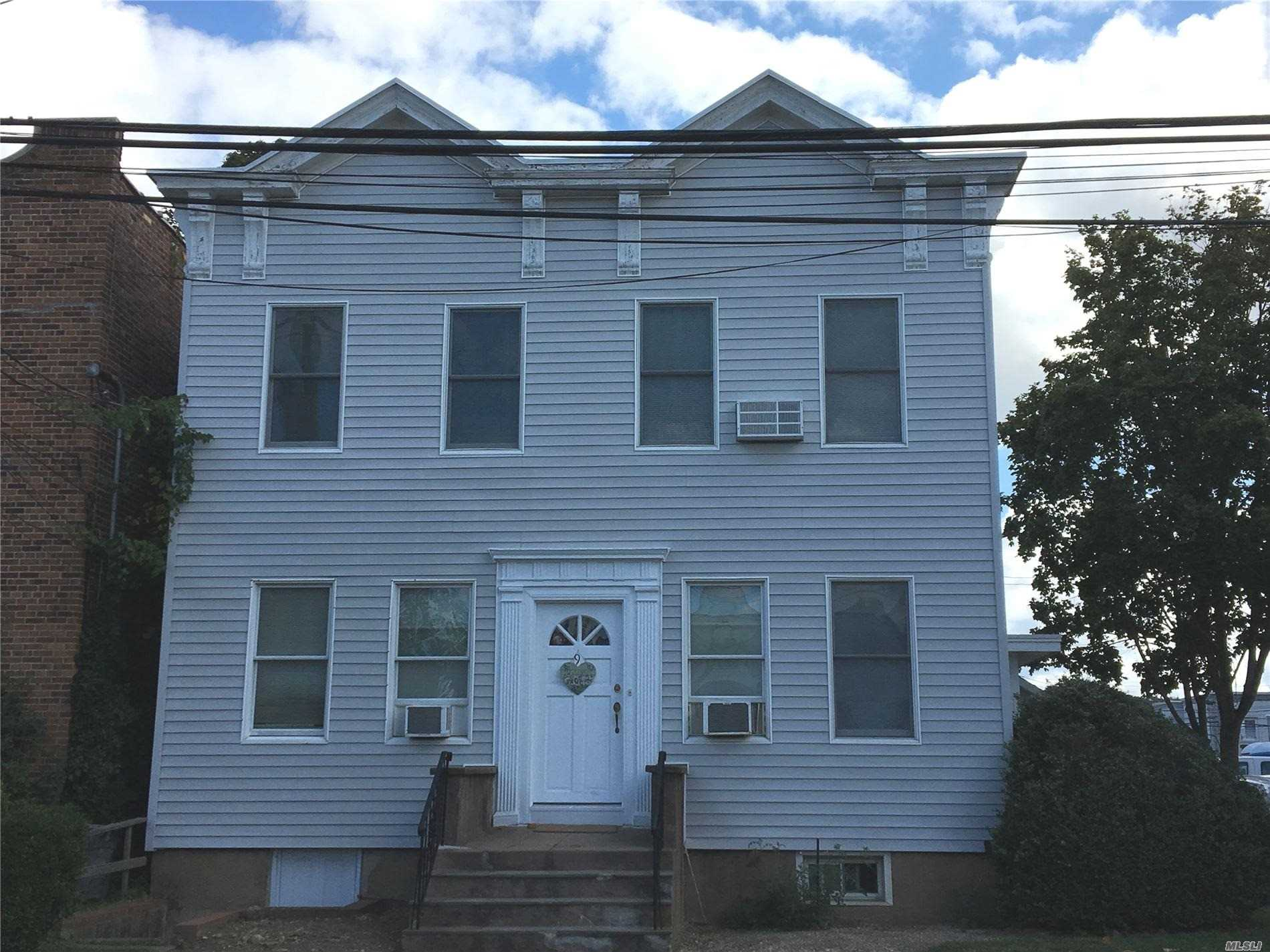 Charming 1 Bedroom Apartment in the Heart of Town and Across the Street From the LIRR. Storage Space Available in Basement.