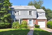 Expanded 4 BR, 2.5 Bath Colonial with Excellent Flow In Fabulous Location. Great Opportunity, All it Needs is Some TLC! Selling AS IS. LR/Fpl, FDR, Den/Fpl & EIK. Large Unfinished Dry Bsmt with High Ceilings. 1 Car Att Garage. SD#20. No Sandy Damage. No Flood Insurance Required. Make This your Own!!