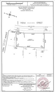 Vacant Land - R3-1 Zoning, Can Build Legal 1-2 Family House. Lot Size: 69X35.