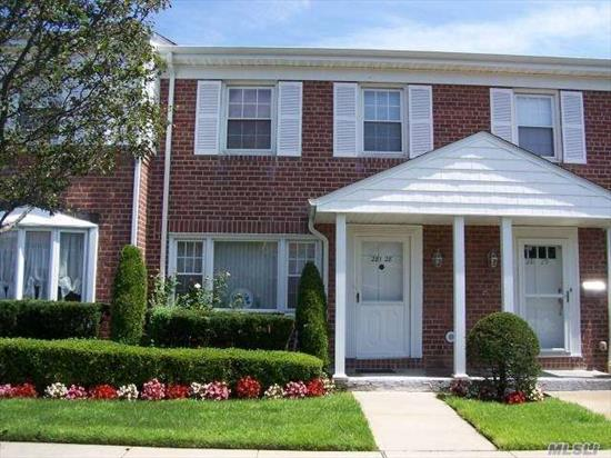 New To Market! Large Townhouse in Valley Stream.SD #13. Ef, Lr, Fdr, Eik, 3 Bdrms, 1.5 Bths, Full Bsmnt, Patio/Yard, Hw Flrs, Gas Heat,  W/D, Lots of Storage, One Parking Space with Second Space For $10/mo, CAC, Sep HW Heater, Full Attic, Low Maint, More...Won't Last At This Price!