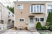 Beautiful Semi-Detached Two Family With Seperated Entrances. Brand New Roof, Forced Air, Laundry Room On First Floor. Car Port, Beautiful Back Yard With Tool Shed. Centrally Located, Close To Shopping Centers, JFK Airport And Major Parkways.