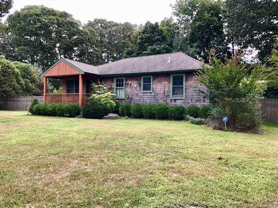Looking for that special home tucked away - this is the one! Country at its best and 5 minutes from all outlets and complete shopping. Home offers easy move in with no work-