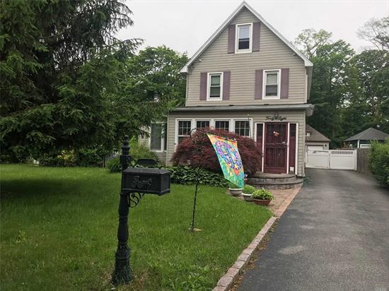 5 bedrooms 2 bath colonial, close to school, shopping and highways.