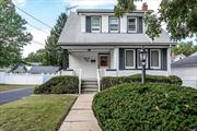 This colonial in South Lynbrook features 3br, 1 bth. Sunny LR, large FDR, EIK, finished basement. Electric heat but there is gas in the house. Long driveway with garage and Fenced property, 6 zone sprinkler system. Very well maintained home. Close to Schools, shopping and LIRR. Low taxes!!