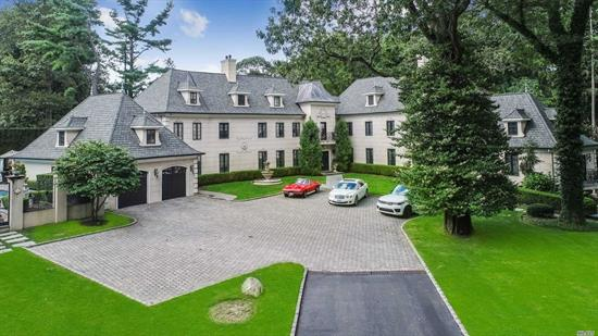 Exquisite Updated Manor Home With All Of The Amenities And South Of France Charm. This 6 Plus Br, 5.5 Ba Home Boasts A Sauna, 4 Fireplaces, Gourmet Kitchen, Built-In Pool On More Than 2 Beautifully Manicured Acres, Adjacent To Tam O'Shanter Country Club. Experience Gracious Estate Living At Its Finest.