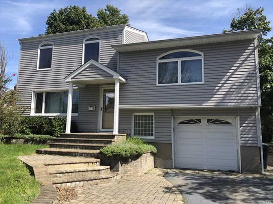 All Newly Renovated Split, Entry Foyer with Coat Closet, Living Room, Formal Dining Room, Granite Eat-in Kitchen with Stainless Steel Appliances. 4 Bedrooms & 2 Full Baths, No access to Basement or Garage.