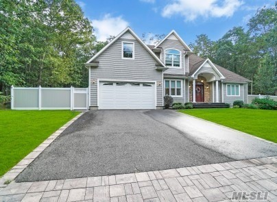 Unique Custom Built Home 2016 w/rare Master Suite on 1st Floor of Colonial.True Diamond home for fussy buyers that wants all the bells and whistles.Home Features 4 Bedrooms, 3.5 Baths, Full Basement w/Ose, Great Room w/Fireplace, Beautiful Large Granite EIK, added Sunroom, Cherry Hardwood Flrs thru-out, CAC plus CVAC System, Top of the line Gas Buderus heating system, 2-Car Garage, Vinyl Fence, Granite Patio, plus bonus land side of home-room for Pool, Taxes $17k per year. Must View to Appreciate!