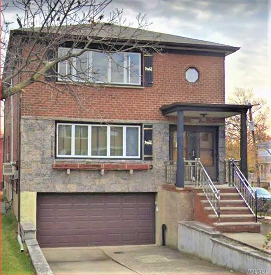 Fully renovated 3 bedroom 2 bedroom located in Bayside in the border of Whitestone. New appliances, new window and new fixtures. Corner property with beautiful curb appeal.