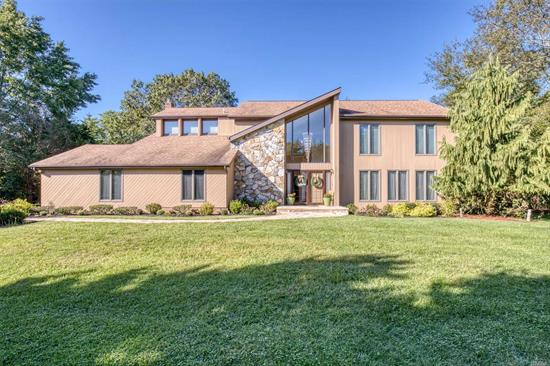 Location, Location Sits this Fabulous 5BR, 3.5 Bath Vermont Inspired Post Modern! Gourmet EIK w/Toffee Maple Cabs, Granite Tops, SS Appls, & Ceramic Tile, Den w/Fieldstone Fplc, Updated Vanities in Baths, BR & Full Bth on 1st Flr, Wide Plank HW Floors, Hi Hats, Custom Moldings, Paint, & Wndw Trmts, Andersen Wndws, Updates Inc: Heating Sys, CAC, Roof, & Pool Pump, Beautifully Lndscpd Fully Fenced .84/Acre w/18x36 Heated IGP, Patios, Deck, & IGS, All Located in Desired Point of Woods, A Must See!