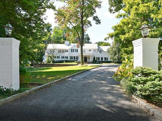 Stunning Best Describes This Tastefully Renovated 4/5 Bedroom, 5.5 Bath Classic Sands Point Center Hall Colonial. Features Include: 2 Story Great Room, Gourmet EIK, Formal Dining Room, Library, Second Family Room, Office, Cabana, Gunite Pool and Tennis Court. Beautifully Situated on Private, Professionally Landscaped Property. Award Winning Port Washington Schools/School District 4.