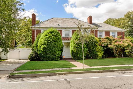 Very large spacious colonial on sprawling property, all high end finished, granite/marble/stainless/Great for large family/ room for mom with separate space or a professional office with separate entrance/5 bedrooms/3.5 baths/full finished basement/stunning unique home, don't miss this great opportunity!!!