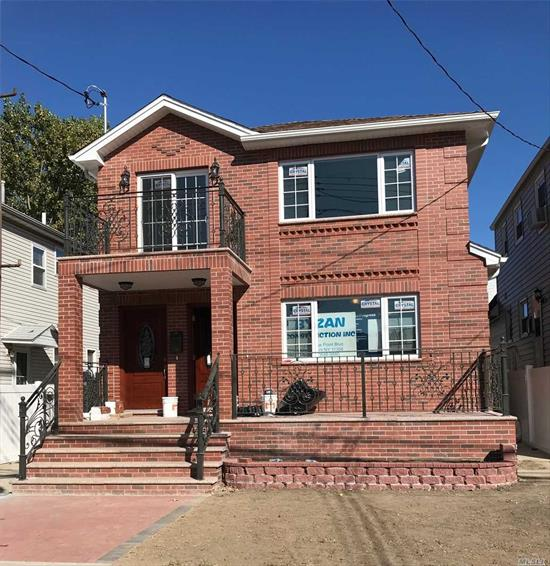 Brand New Beautiful Large 2 Family Great Location Close To Parks And Transportation, 2 Separate Boilers For Each Unit Bsmt/Subfl:Finished Half Bath 2 Boilers Sep Entrance 1st Floor:Three Bedroom, Living Rm, Dining Rm, Two Full Bath 2nd Floor:Three Bedroom, Living Rm, Dining Rm, Two Full Bath