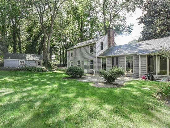 Wonderful Vintage home on large private and picturesque property. Separate garage and driveway. Home is reminiscent of a Berkshires getaway. Adjacent to Medical Spa.A wonderful find that is in a most convenient location.
