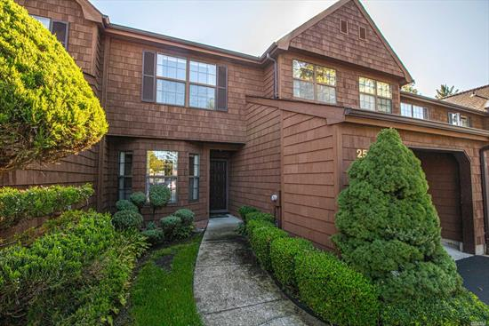 Meticulously maintained Emerald Woods condo on private east side of community. You will truly enjoy the peace and quiet of this quaint 28 home community. 2bdrms, 2.5 bths, EIK, Fdr, Flr w/FP, 2 zone CAC, stone patio, 1 car garage. Only home for sale in the community - will not last!