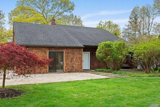 Enjoy this private compound, located on a cul-de-sac on just shy of 1 acre. The first level features a spacious living room, updated, eat in kitchen with sitting area and fireplace, dining area with a wet bar, one bedroom, two baths, laundry room, and bonus rooms. The second level offers large master suite with a bath & vanity area, three additional bedrooms and one full bath. Spacious backyard offers separate cabana, heated pool, and har-tru tennis court.