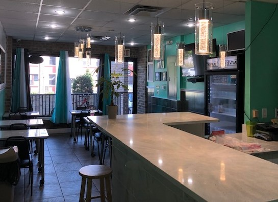"""Turn Key Operation For Sale In Whitestone! Includes All Tables, Chairs, Utensils, Storage, Double Door Refrigerator, Large Freezer, Oven, 48"""" Gas Griddle, Prep Table w/Fridge, Salad Bar w/Fridge, Hot Buffet, Air Fryer, 42"""" Television, 6 Tables, 12 chairs, Ancillary System in 750 Sq. Ft. Space. Convenient to All."""