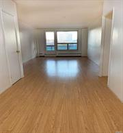 Beautiful 1 Bed 1 bath apartment with Huge Private Terrace. Separate Kitchen with Window . Park City Residency Offers Seasonal Pool and Children's Playground Located on Site. There are two 24-hour indoor parking garages,  Private storage, Laundry onsite. 24 Hour Security Guard. Sublet allowed after 1 year. Maintenance Includes Heat, Water And Gas. 2 blocks away from Rego Center, Subway, Buses, Restaurants.