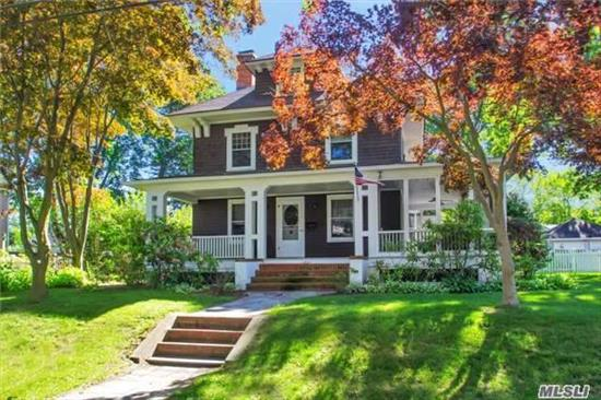 Beautiful Village Home W/Amazing Updates.Wd Flrs, Coffered Ceilings, Built-In Cabinetry, Wainscoting, 4 New Gorgeous Bths(Marble & Waterworks), Updated Eik W/Marble Counter& Ss Apps, Flr W/Fp, Fdr, Mudrm, Lrg Bdrms, Part Fin Dry Bsmnt, New Painted Exterior, Screen Wrap Porch, Large Fenced Yard.Village Amenities:Beach, Docking, Tennis, Snow Removal, Village Security **Open House 1st Show**