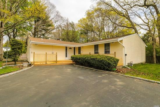 Completely Remodeled with 3/4 Hickory Flooring Throughout, New Bathroom, Open Floor Plan, Huge Room Can be Playroom, Den or Office, New Roof