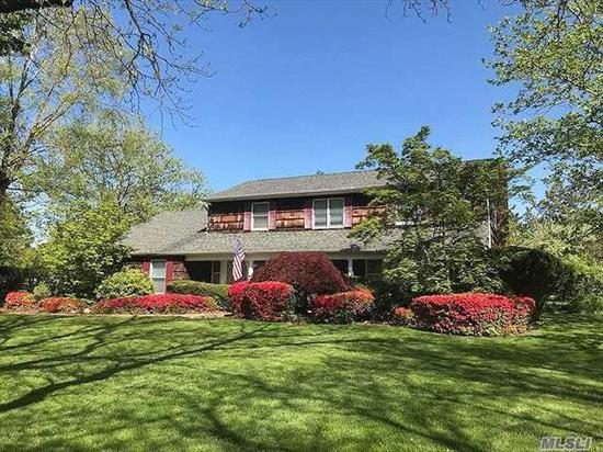 Amazing Location!!! This spacious colonial home is nestled on 1 acre of pristine property, Million Dollar Homes, Partial Waterview. Come and Make it Your Own! Great Bones and Space. CAC Private beach. Located in the quaint village of Northport with its own theater, restaurants shops. I hr commute to NYC.