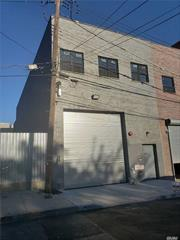 Semi Detach ,  2.500 sq ft Warehouse ,  M1 Zoning - New Building ,   30 ft height ceilings - 600 amps Electric ,  2 nd floor has Office space with Kitchenette ,   2 Powder rooms ,  CAC,  all in the heart of College point . Minutes from Home depot and Downtown flushing.