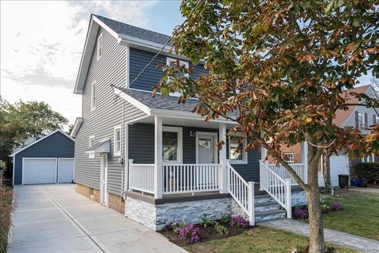 Charming Colonial 3 Bedroom and 2.5 Baths, Formal Dining Room and a beautiful open Concept Kitchen with New SS Appliances, Hardwood Floors Throughout. Finished Walk-up Attic. Dead End St. IT WONT LAST!!!!!!