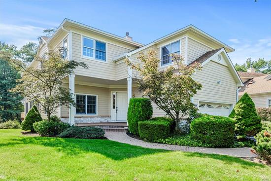 Roslyn. Totally Renovated Detached Regency Model Perfectly Located in the Wonderful Community of The Links. Huge Entry, Top of the Line Chef's Kitchen, 4 Bedrooms & 4.5 Baths with Luxurious New Master Bath, Huge Finished Walk-Out Lower Level. Shuttle to LIRR, Won't Last!