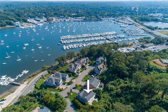 Beautifully presented young 4 bedroom 3.5 bath Colonial with exceptional water views of Huntington Harbor. Crisp clean detail throughout this very hip residence. Large floor plan takes advantage of exceptional water views  Hardwood Flooring, spacious chefs kitchen, breakfast room, large great room and huge master suite/ Balcony overlooking Huntington Harbor. Community Dock with yearly fees available just steps away. Close to to the village and all the beauty that the town of Huntington offer.