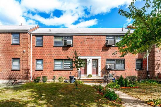 Bright and spacious, renovated 1-Bedroom unit [Upper/Corner]; Living/Dining Room [L-Shape], full bath, eff kitchen, hardwood floors, access to large attic. Maintenance includes utilities; Off-Street parking; Close to transportation, shopping, restaurants, etc.
