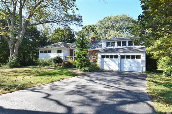 Lovely 3 bedroom 1.5 bath home in the Vanderbilt section of Centerport. Hardwood floors, wood burning fireplace, recessed lighting, CAC 6 yrs old, new cesspool, 1000 gal.oil tank-gas on street, first layer roof, 2 car garage, seconds to the Centerport Yacht Club, Harborfields SD#6, fabulous opportunity!