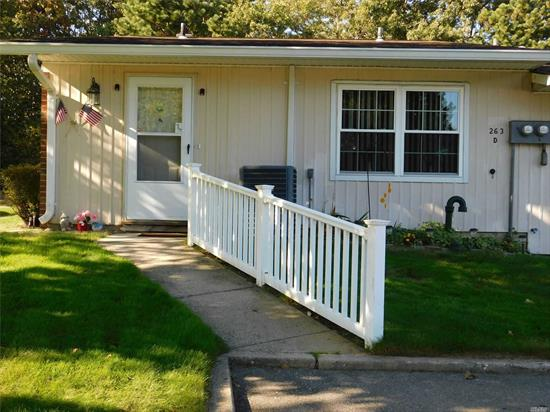 Very clean & updated corner unit with walk and door from parking area. Very clean very nice move right in condition.