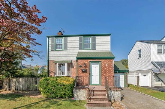 Come to see this beautifully updated colonial standing over 55x100 lot, many recent updated throughout, open layout with sliding glass doors out to the deck, private back yard. Prime Elmont School district - Close to all Mayers Parkways and few minutes to the LIRR.