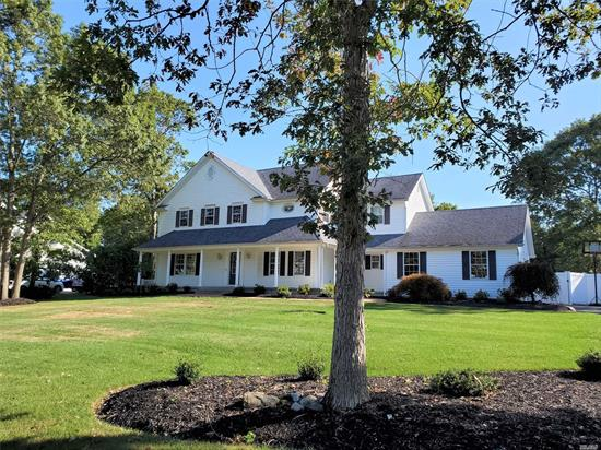 Foxwood Model in Island Estates completely renovated in 2018. Stunning two story entry, bright & airy open floor plan with 9' ceilings, dual staircases, wood flooring throughout. Gorgeous kitchen with granite & exquisite tiled backsplash, Family Room with fireplace. Double door entry to Master Suite w 2 walk-ins, sitting room, elegant bath w dual vanities, dressing area tub & glass entry shower. Finished lower level with rec room & bath. Private, fenced yard with IG Pool (liner & plumbing 2018).
