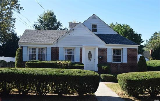 Completely Renovated Large Bright Cape Cod in Uniondale. This property Features 4 Bedrooms, 2 Bathrooms, Renovated Kitchen w/ Brand New Stainless Steel Appliances, Hardwood Floors, Open LR/DA Layout, Renovated Bathrooms, Attached Garage, Fenced Yard, Patio and more. Low Property Taxes. Great For A First Time Home Buyer. Call Today To Schedule A Showing!