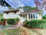 Beautifully remodeled updated 3 Bed 2 Bath Split with fantastic park like yard. Kit New Stone Counter Top New SS Appliances, Newly Renovated Bathrooms, All New Top Of The Line Furnace-2 Heating Zones. 2 Skylights - Bright & Sunny Inside. Large Family Rm Brick Fire Place. Over-Sized Deck & Beautifully Landscaped Back Yard. Famed Syosset Schools - South Grove Elementary, HB Thompson MS & Syosset HS. RE Tax Will Be Lowered To $15800 ($14500 After STAR) in 10/2020 Gas On The Street.