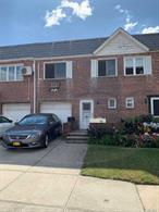 All Brick Large Townhouse With 20x40 Building Size. Spacious Living Rm & Dining Rm. 3 Bedrooms, 2.5 Baths + Finished Basement ! New Andersen Windows. R3-2 Two Family Zoning. Convenient To Shops, Transportation & Houses Of Worship. Location, Location, Location.