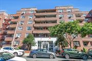 Mint condition, extra-large two-bedroom apartment with 5 closets. The kitchen and bathroom have been meticulously renovated. The kitchen features a breakfast nook, stainless steel appliances, granite countertop, glass backsplash, and LED undermount cabinet lights. Updated electric panel and wiring. The building offers a full-time doorman and live-in super. Just a 2-minute walk to the Kew Gardens LIRR station, and a 10-minute walk to the E, F Union Turnpike subway station. Don't wait, call now!