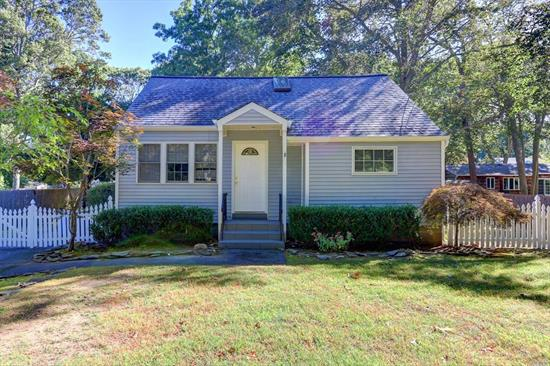 Charming 4 Bdrm, 2 Full Bath Cape w/ Full Basement in desirable Miller Place SD, Gas heat, Very Clean and Freshly painted. In a Cul-De-Sac w/ Fenced Backyard and Large Deck. Convenient to Major Roadways, Hospitals, School and Beaches. Ready For Immediate Occupancy. Dog allowed, W/ $200 non refundable fee. No Cats