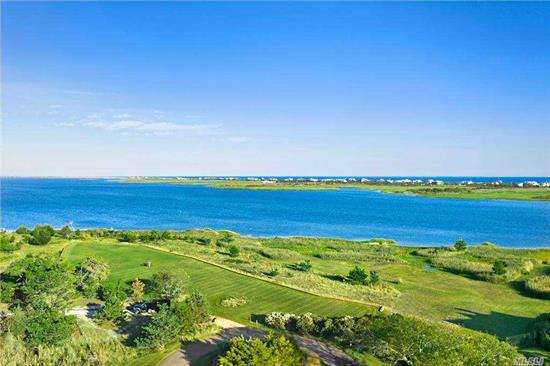 Enjoy Panoramic Water Views Of Shinnecock Bay Toward The Dunes From This Spacious 6+ Acre Lot Located Amidst Unspoiled And Preserve-Like Surroundings, With Tranquil Private Lane Access. Among The Largest Open Bay Waterfront Parcels Remaining, Offering A World-Class Building Opportunity - Don't Miss It.