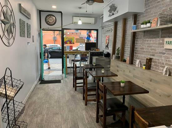 Existing Restaurant w/Natural Gas in this location! $2250/month lease with $50/month/year increases, 6 years left on lease. Generates $140, 000 Gross Annual Sales. $200 trash/month, Spectrum Business $135/month, Insurance $165/month (liability &fire), Ductless AC, using Electric Stove, 2 Fryers, 2 fridges in kitchen. Basement storage has 3 refrigerators, 2 six-foot freezers, ice machine. Tenant Doesn't pay for water or property taxes. Electric Bill is appx $800 in summer and appx $600 in winter.