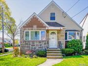 Well maintained 4 bedroom 2 bath Cape in New Hyde Park with 1338 sq ft of living space. Hardwood floors. Finished basement. Detached garage, wide driveway to accomodate two vehicles. Walking distance to LIRR train stations, schools and restaurants.