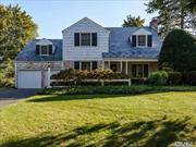 Picture Perfect Colonial In Munsey Park.Gas Cooking in Chefs Gourmet Kitchen with Granite Counters/Island & Rutt Cabinets. Family Rm Off Kitchen W/French Doors to Bluestone Patio. Living room w/fpl, formal dining room, Mud Room & Powder Room. 2nd floor offers 3 Bedrooms, 2 Full Bath. CAC, 2-Car Garage.