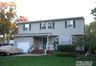 Eastport-South Manor SD, Low taxes, 4 Over-Sized Brs, 2 Fireplaces, Formal LR, Forma;l DR, EIK w/Cherrywood Cabinets, SS Appliances, Propane Stove, Den, Garage, 3 Sheds, IG Heated Pool, Stonework Patio, CAC, IG Sprinklers, Wood Floors, Upgraded Fin. Bsmt, Laiundry, Boiler Room,
