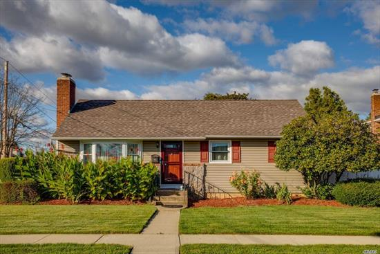 Move In Condition Ranch...Whole House Renovated over the Last 5-10 Years! Beautiful Shaker Cabinet Kitchen w/Granite & 5 Burner Stainless Steel Stove & Appliances, Living Room w/Wood Burning Fireplace, Formal Dining Room, 3 Bedrooms, 1.5 Baths, Finished Lower Level Play Area, Crown Moldings, Hi Hats, Hardwood Floors, Over-sized Yard w/PVC Fence, CAC, 2014 Windows, New Front Siding, Oil Heat, Gas Cooking & Dryer, Digital Thermostat, IGS, Charles Campagne Elementary School. Taxes grieved for 20-21