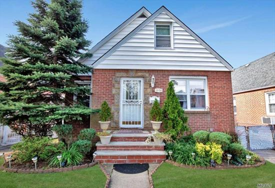 Expaned Cape in The Heart of Fresh Meadows, Hardwood Floors throughout, Many Updates, 4 Bedrooms, Backyard has a feeling like you are on a Greek Island Oasis with a Heated Pool, 2.5 Bathrooms, Close to Busses, Shopping, House Of Worship, School District #26, Come And See!!