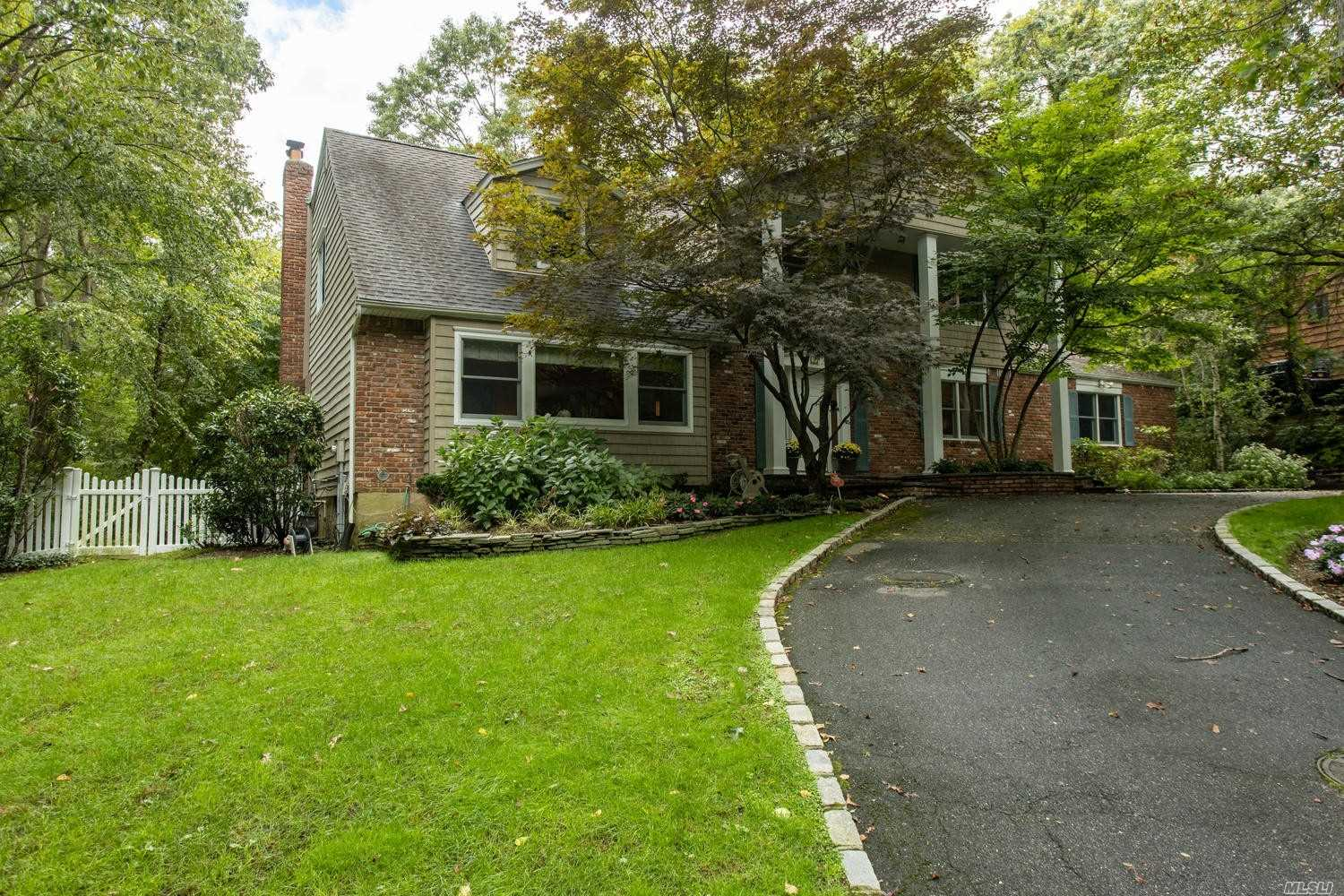 Beautiful Center Hall Colonial. Walk In To A Large Bright Entry/Foyer, Formal Living Room, Formal Dining Room, Eat-In-Kitchen, Great Room/Den With Gas Fire Place And Private Laundry Room/Pantry. Features A Master With Full Bath, 3 Additional Bedrooms And Full Bath. Full Finished Basement With Wet Bar, Lounge Space And Gym Area. In ground gunite salt water pool!