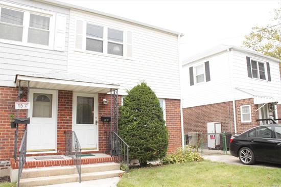 Beautiful colonial featuring 3 bedrooms, 1.5 bathroom, 1 garage and private driveway, full finished basement.Walking distance to bus stop, convenient to all!