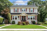 Spacious, sunny and elegant Colonial on a very quiet block. Traditional details alongside modern updates. French doors, hardwood floors with inlay, high ceilings, working fireplace, & classic moldings. Renovated chef's kitchen with dining nook, renovated bathroom, central air, new roof and windows (4 yrs young), updated electric 200 amps, IGS, new front door. Taxes are very low and have been grieved relentlessly!