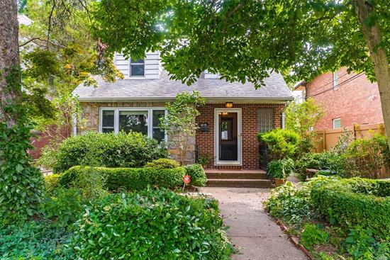 This charming brick and frame cape offers a multitude of design options, allowing your imagination to run wild as you create the home of your dreams in Jamaica Estates. Featuring 4 bedrooms and 2 full baths, this lovely home is set on a deep (40' x 120') lot on a tranquil street in Jamaica Estates.